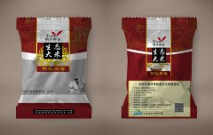 大米包装袋平面设计图