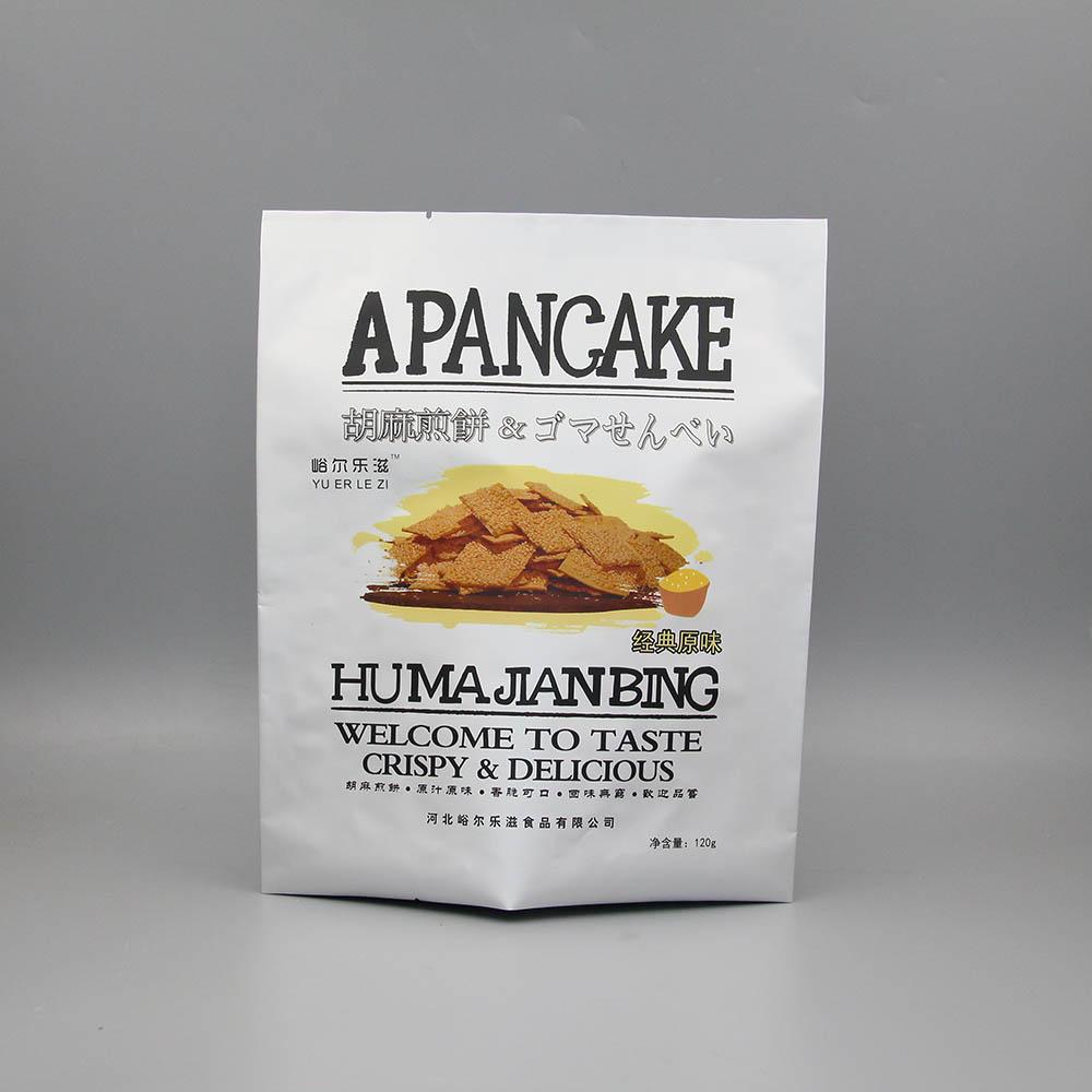 三边封铝箔复合食品袋-煎饼袋