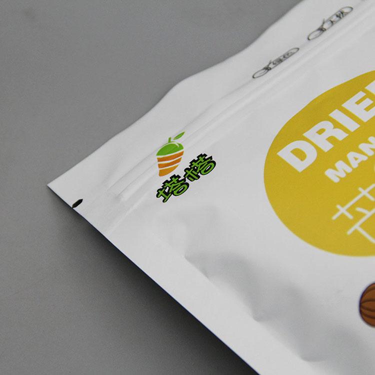 自立拉链芒果干包装袋